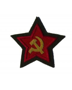 RSV1G.Soviet Commissar sleeve stars on Green