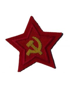 RSV1R.Soviet Commissar sleeve stars on Red