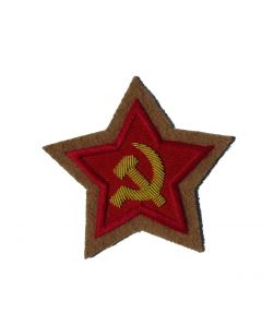 RSV1T.Soviet Commissar sleeve stars on Tan