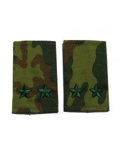 VSR21.Russian VSR camouflage shoulder slides for rank of Lt. Colonel.
